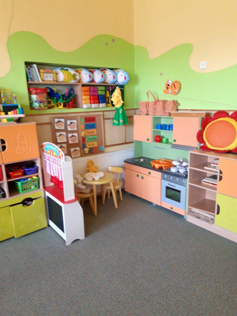 kuchynka v škôlke